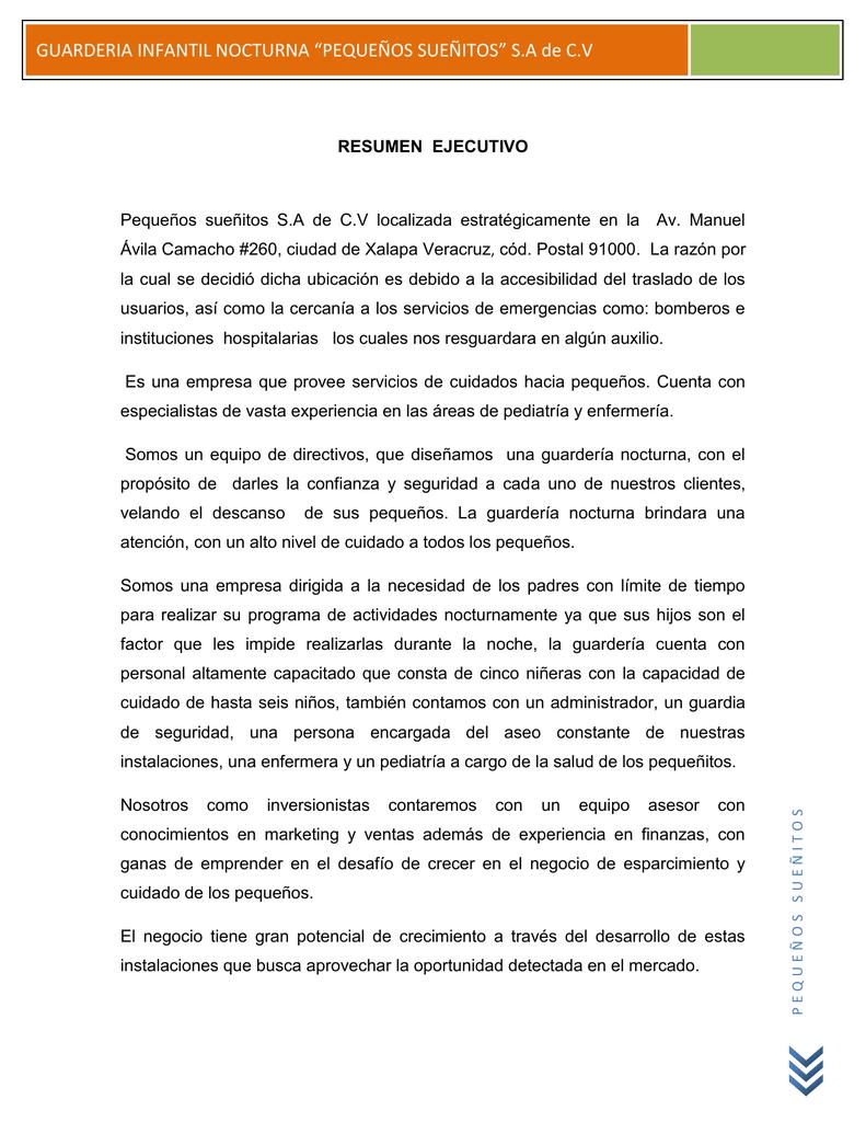 Lujo Resume De Gerente De Guardería Colección de Imágenes ...