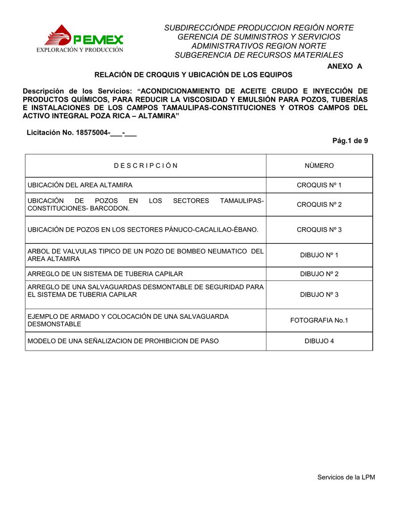 ANEXOS A-BG-BP-DE9-E1-F1 PQ-TUBERIA CAPILAR-AA