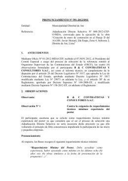 591-2012-DSU - Municipalidad Distrital de Ate