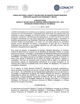 convocatoria anexa - Escuela Normal Experimental