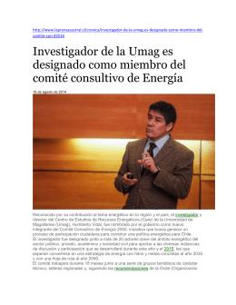 4 noticias CERE UMAG - Universidad de Magallanes