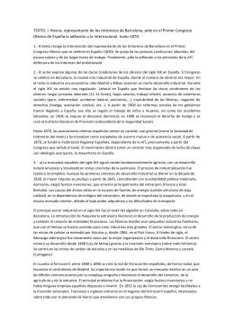 TEXTO: J. Rovira, representante de los tintoreros de Barcelona, pide