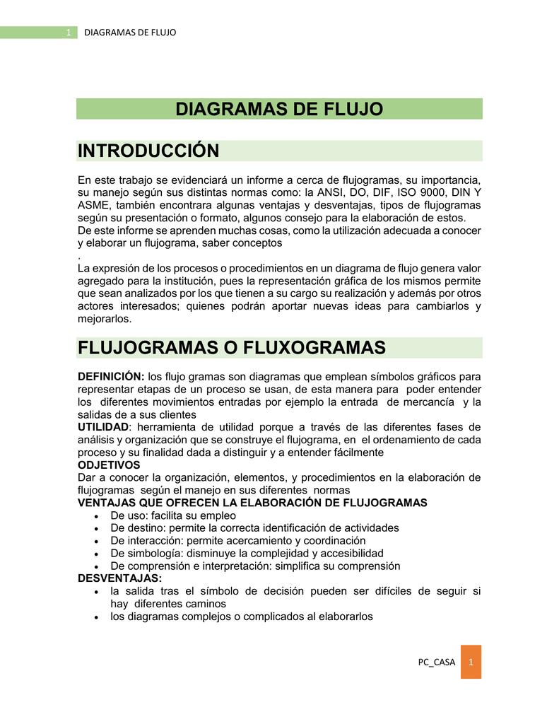 Diagramas de flujo introduccin ccuart Images