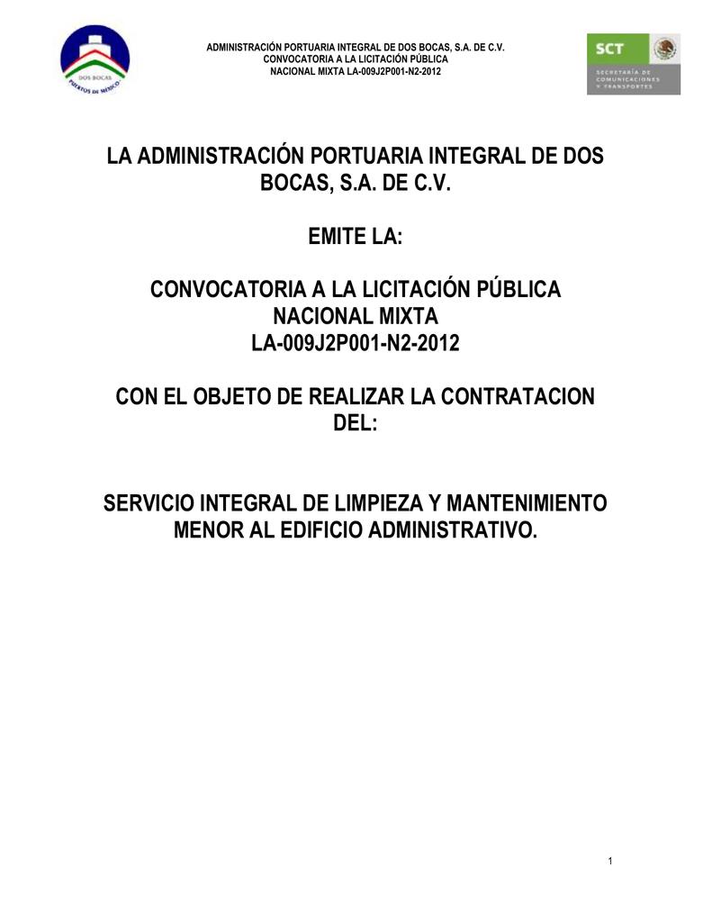Administración Portuaria Integral de Dos Bocas
