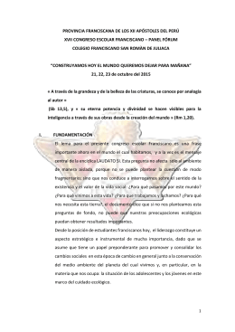 documento 2015 (1) - Colegio Francisano San Roman