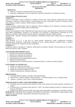 contenidos actitudinales - Colegio Gobernador Juan José Silva
