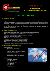 plan operativo de marketing