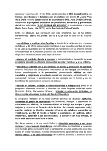 escrito prensa program radio