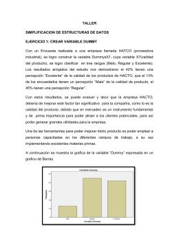 TALLER SIMPLIFICACION DE ESTRUCTURAS DE DATOS