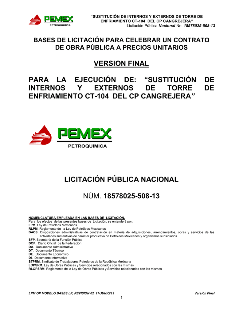 18578025-508-13 - Pemex Petroquímica
