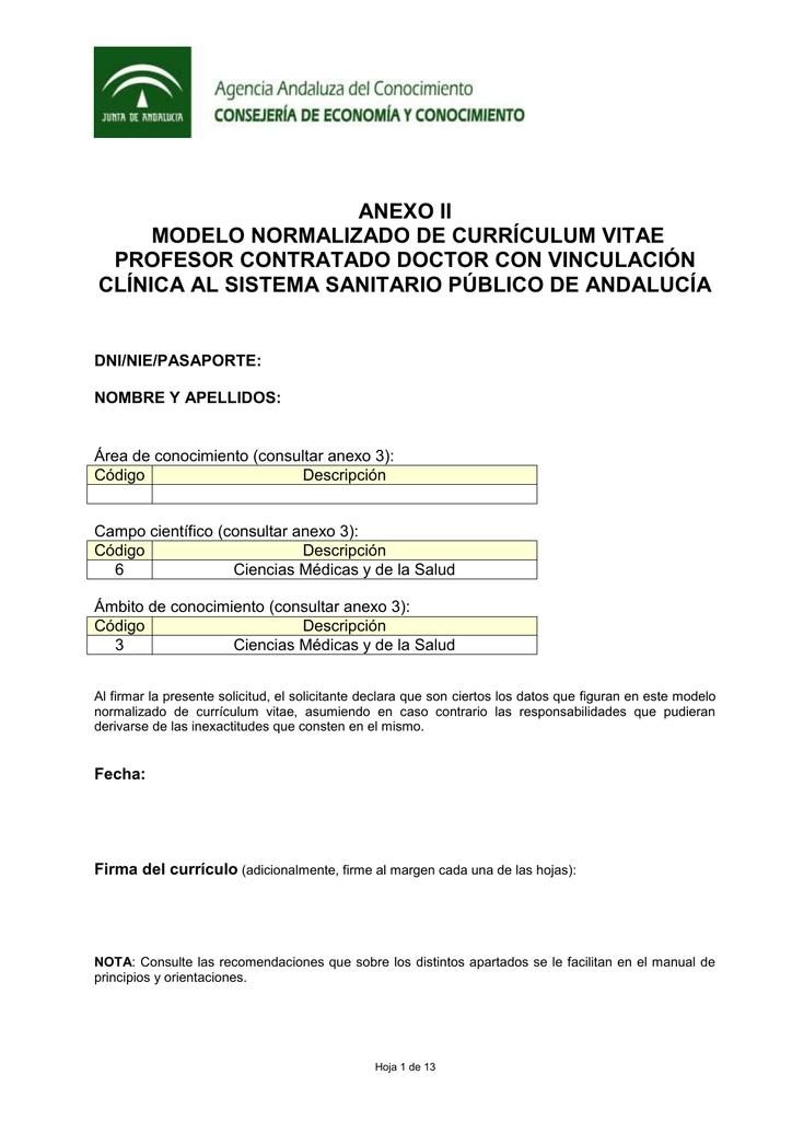 Excelente Curriculum Vitae Plantilla Adjunto Profesor Elaboración ...