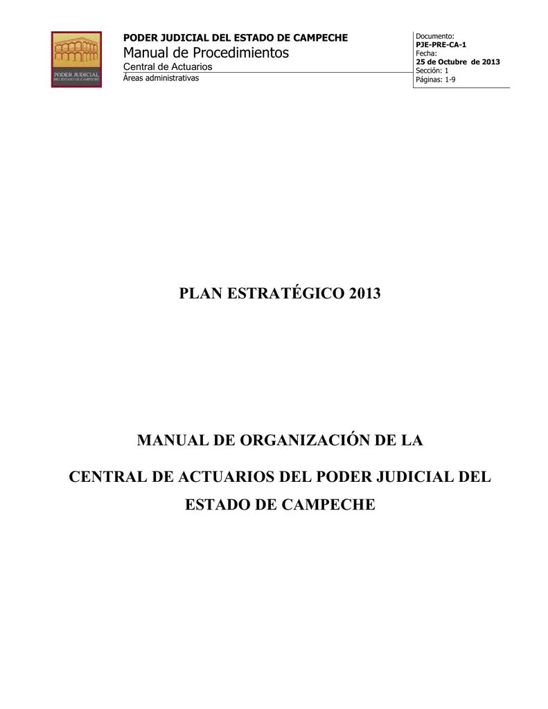Estructura Organizacional Coordinador