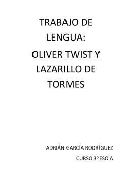 resumen oliver twist es una novela escrita por charles