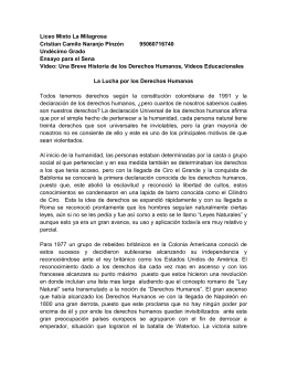 Liceo Mixto La Milagrosa Cristian Camilo Naranjo Pinzón 95060716740 Undécimo Grado