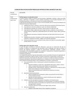 lic educ preesc intercultural bilingüe plan 2012