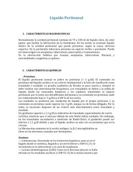 Caracter sticas del l quido peritoneal - Liquido preseminal vih casos ...