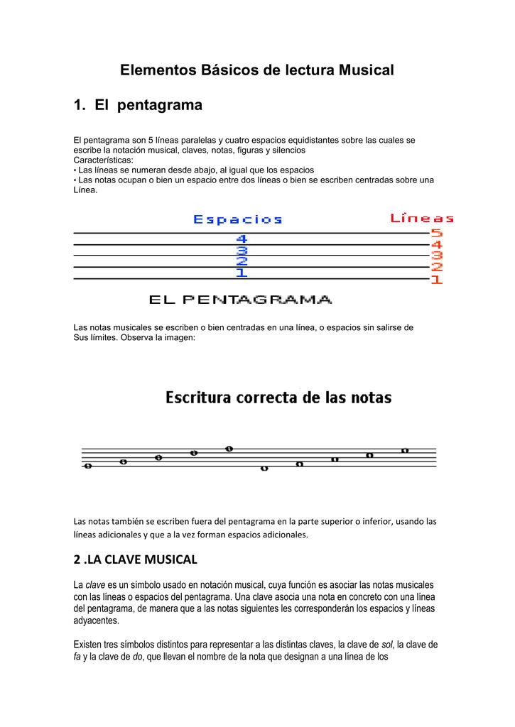 3. Las Notas Musicales.