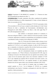 Ord. Nº 447-2014 - honorable concejo deliberante de la