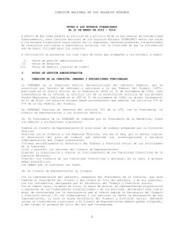 comisión nacional de los salarios mínimos NOTAS A LOS