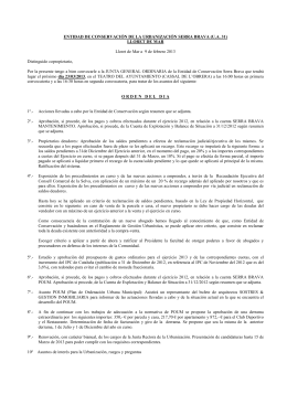 convocatoria asamblea general