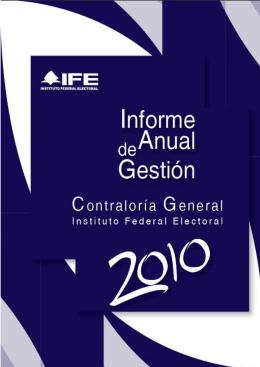 2010 - Instituto Nacional Electoral