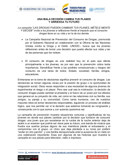 Comunicado 3 decisiones jovenes
