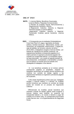 K 16980 ( 1611 )2004  Asiganaciones Familiares. Efectos.