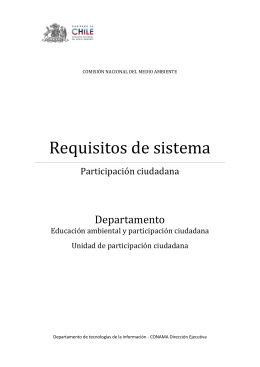 Requisitos de sistema - e-PAC