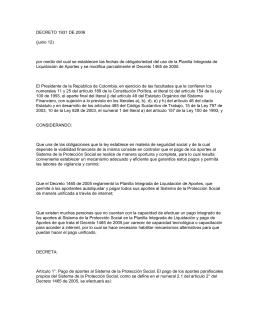 Decreto 1931 de 2006