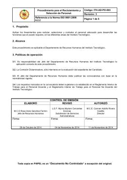 ith-ad-po-003 procedimiento para la seleccion de personal