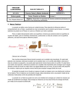 COLEGIO LAMATEPEC Ciencia, Salud y Medio Ambiente Octavo grado