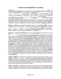 Contrato de arriendo de local comercial for Contrato de arrendamiento de oficina
