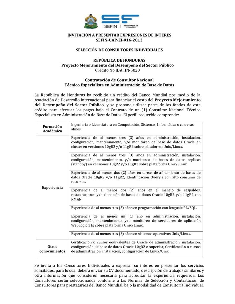 Lujoso Pl Sql Resume Para 1 Año De Experiencia Modelo - Ejemplo De ...