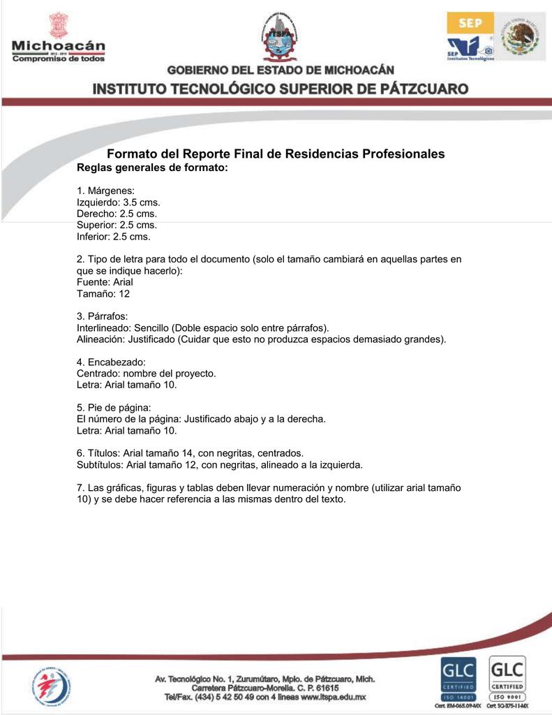 Moderno Reanudar Tamaño De Letra Y Espaciado Adorno - Ejemplo De ...