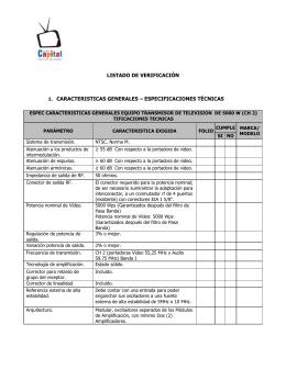 Formato Listado de Verificación Concurso Publico