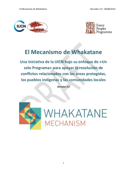 disponible aquí - Whakatane Mechanism