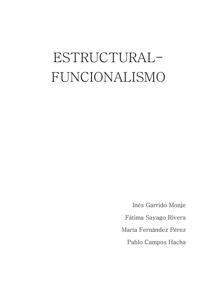 2 1el Estructural Funcionalismo