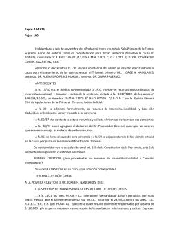 G.I. Y OTS. P - Diario Judicial