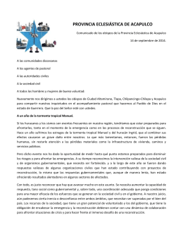 Comunicado Provincial 14 sep 2014