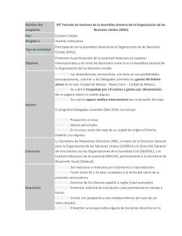 (ONU) - Centro Universitario de Ciencias Sociales y