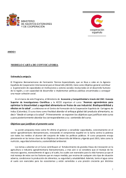 modelo carta de convocatoria