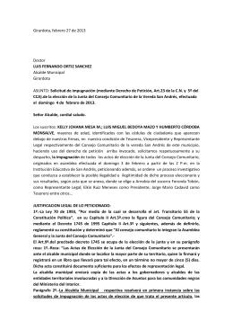 Girardota, febrero 27 de 2013 Doctor LUIS FERNANDO ORTIZ
