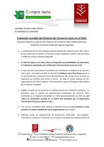InformeFF2011_EvoluciondelSistemaFairTrade