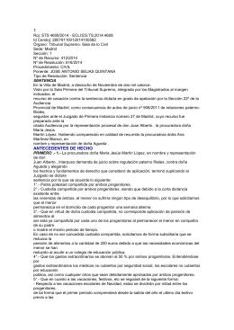 Sentencia TS 18 noviembre 2014 informe favorable