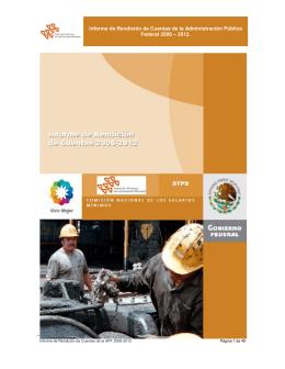 Primera Etapa - Comisión Nacional de los Salarios Mínimos