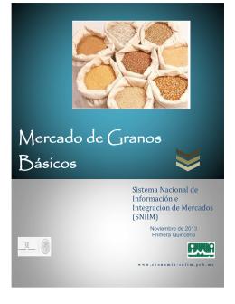 Mercado de Granos Básicos Sistema Nacional de Información e