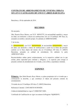 Contrato de alquiler de local de for Contrato de arrendamiento de oficina