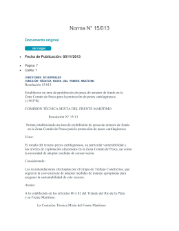 Norma N° 15/013 Documento original