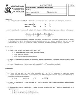 8-Estadística, combinatoria y probabilidad