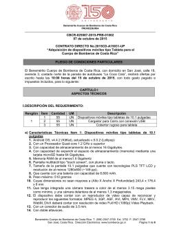 Cartel Tabletas A15031 - Benemérito Cuerpo de Bomberos de